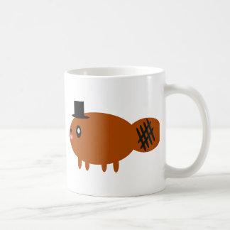 In a hat coffee mug