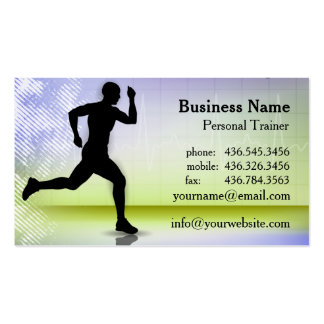 In A Heartbeat Ver. 2 - Personal Trainer Business Card Templates