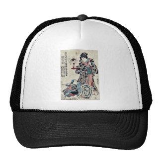 In a memorial performance by Utagawa,Kuniyoshi Trucker Hat
