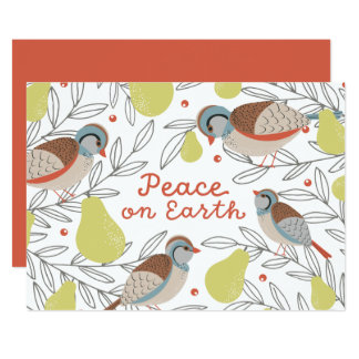 In a Pear Tree Corporate Holiday Card