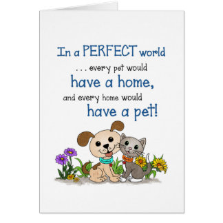 In a perfect world... (BowWow & MeeYow) Card