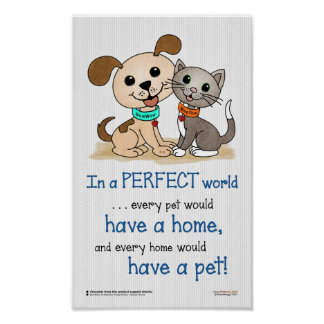 In a perfect world... (BowWow & MeeYow) Poster