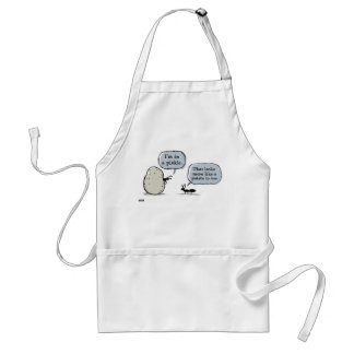In A Pickle Adult Apron