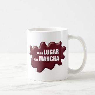 IN A PLACE DE LA MANCHA CLASSIC WHITE COFFEE MUG