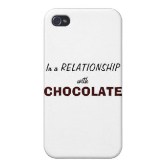 In a Relationship with Chocolate Cases For iPhone 4