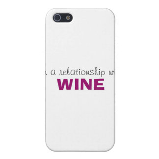 In a Relationship with Wine iPhone SE/5/5s Case