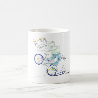 In a spin (color) coffee mug