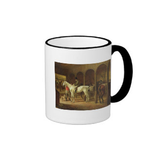 In a Stable Coffee Mug