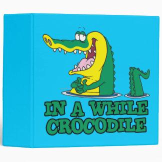 in a while crocodile binders