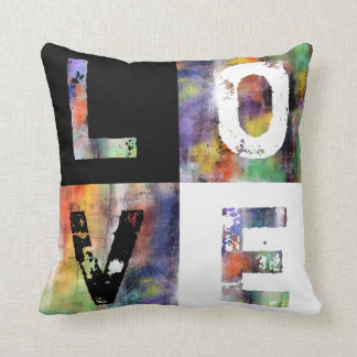 In A Word: Love Throw Pillow