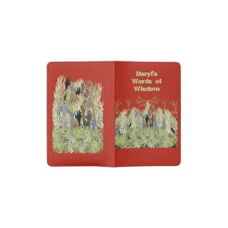 In A Zombie Garden Pocket Moleskine Notebook