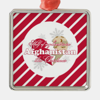 In Afghanistan this Christmas Ornament