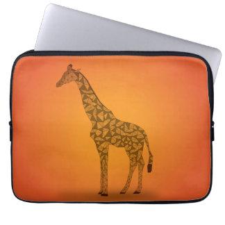 In Africa - Giraffe Laptop Sleeve