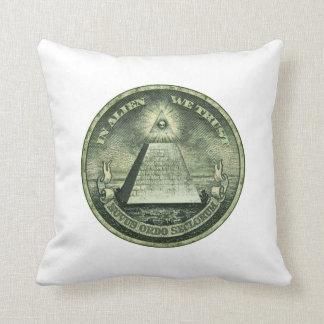 In Alien We Trust Pillow
