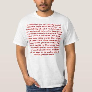 in all honesty shirt