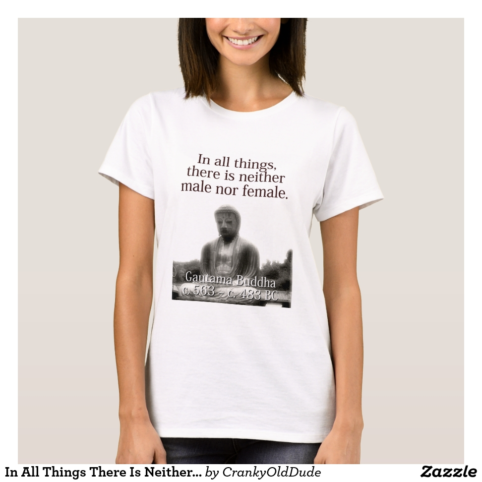 In All Things There Is Neither - Buddha T-Shirt - Best Selling Long-Sleeve Street Fashion Shirt Designs