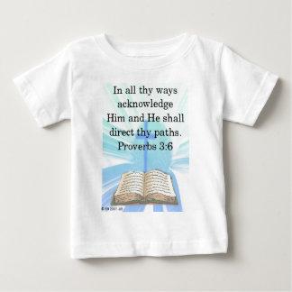 In all thy ways baby T-Shirt