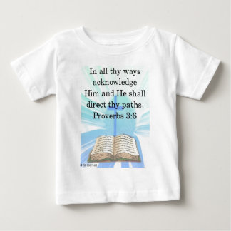 In all thy ways tee shirts