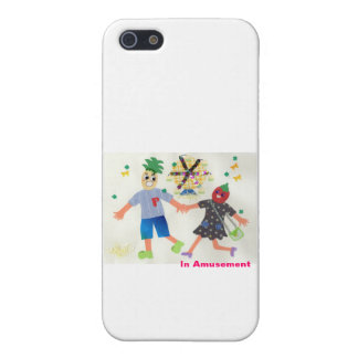 In Amusement (Pine&Berry) iPhone SE/5/5s Cover
