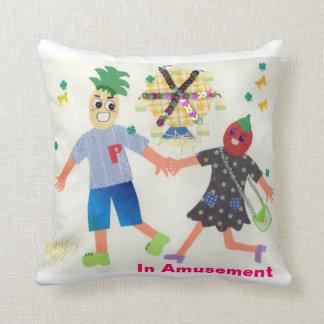 In Amusement (Pine&Berry) Pillow