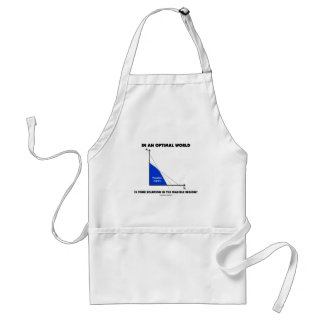 In An Optimal World Is Your Solution Feasible? Adult Apron