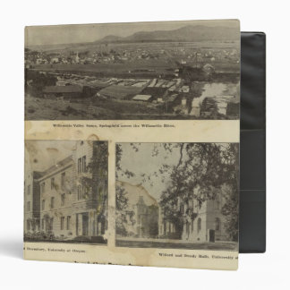 In and about Eugene, Oregon 3 Ring Binder