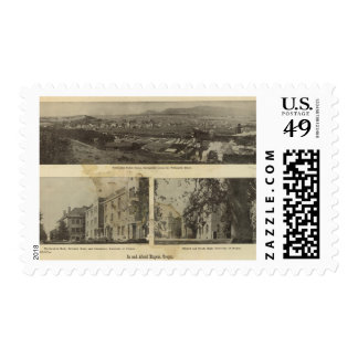 In and about Eugene, Oregon Postage Stamp