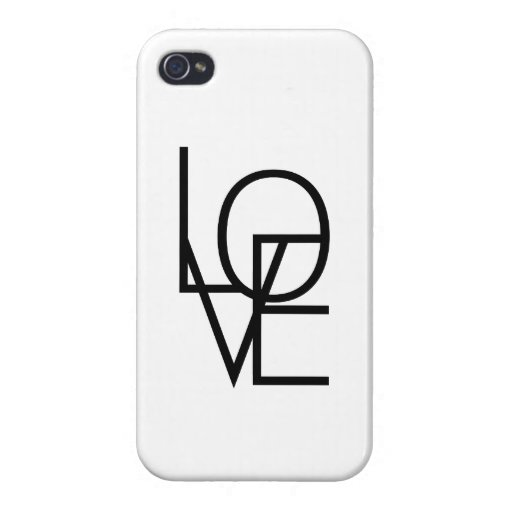 In and out of LOVE Case For iPhone 4
