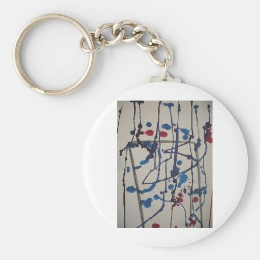 In and Outside of Frame Keychain