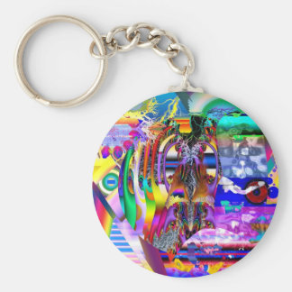 IN AROUND AND OVER THE RAINBOW.jpg Keychain