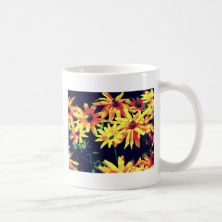 In artificial light classic white coffee mug
