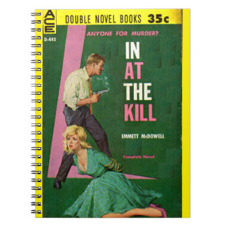 In At the Kill pulp novel cover Notebook
