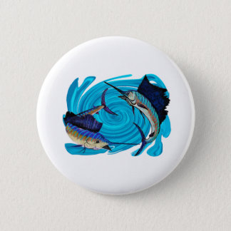 IN ATTACK FORMATION PINBACK BUTTON