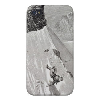 'In Attempting to Pass the Corner I Slipped and Fe iPhone 4/4S Cover