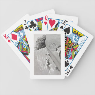'In Attempting to Pass the Corner I Slipped and Fe Bicycle Playing Cards