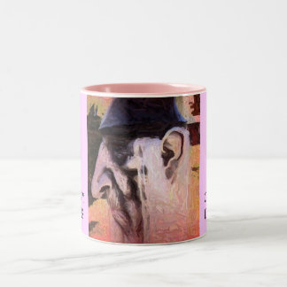 IN AWE OF DICKENS, TIMOTHY SPARKS, CHARLESDICKE... Two-Tone COFFEE MUG