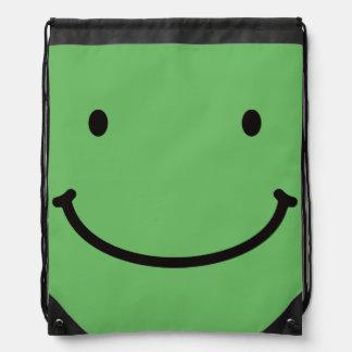 < In back zipper you > Mr. Zipper ON the back Drawstring Backpack