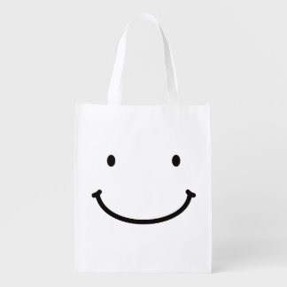 < In back zipper you > Mr. Zipper ON the back Reusable Grocery Bag
