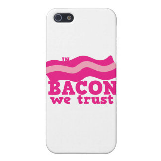 In bacon we trust case for iPhone SE/5/5s