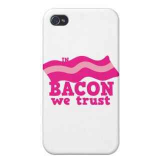 In bacon we trust iPhone 4/4S case