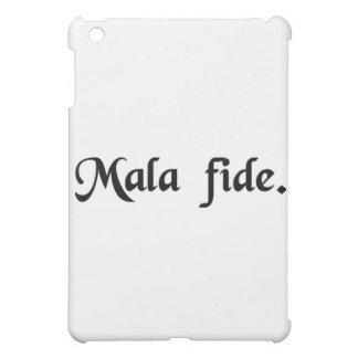 In bad faith iPad mini case