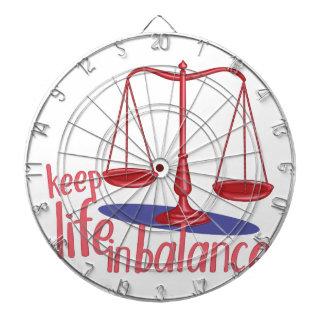In Balance Dartboard