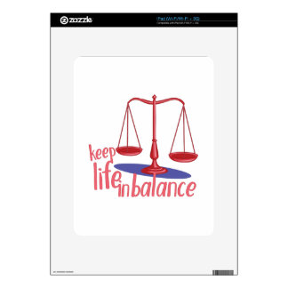In Balance Decals For iPad