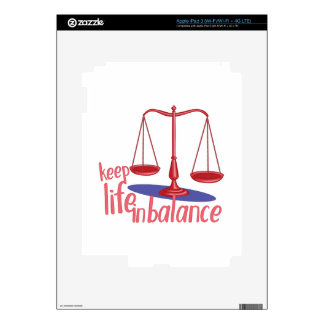 In Balance iPad 3 Skin