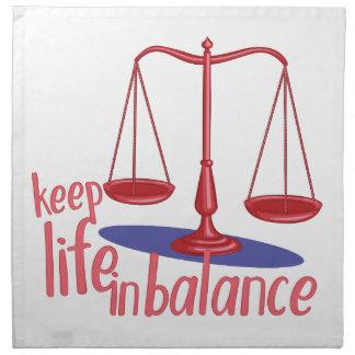 In Balance Napkin