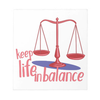 In Balance Notepad