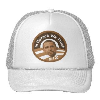 In Barack We Trust Trucker Hat