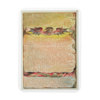 'In Beauty the Daughters of Albion...', plate 58 f Rectangular Photo Magnet