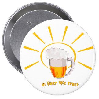 In beer we trust button