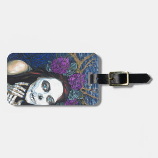 In Between, Day of the Dead Woman, Skull Make-up Tag For Luggage